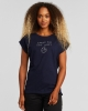 Dedicated W Visby Local Planet T-Shirt (navy)