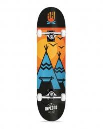 Inpeddo Wigwam Standard Komplett Skateboard 8.0 Inch (light blue)