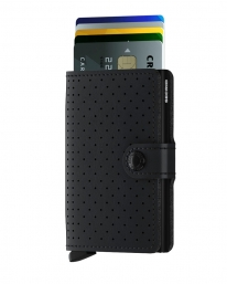 Secrid Miniwallet (perforated black)
