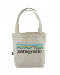 Patagonia Mini Tote (pastel p6 logo/bleached stone)