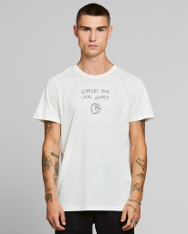 Dedicated Stockholm Local Planet T-Shirt (off white)