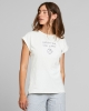 Dedicated W Visby Local Planet T-Shirt (off white)