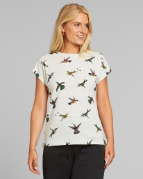 Dedicated W Visby Hummingbirds T-Shirt (off white)