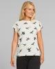 Dedicated W Visby Hummingbirds T-Shirt (off white)