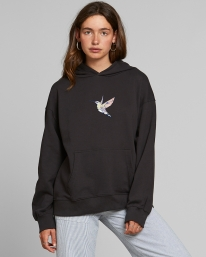 Dedicated W Sundborn Hummingbird Hoodie (charcoal)