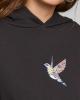 Dedicated W Sundborn Hummingbird Hoodie (charcoal)