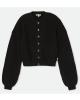 Brixton W Domino Cardigan (black)