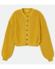 Brixton W Domino Cardigan (lemon curry)