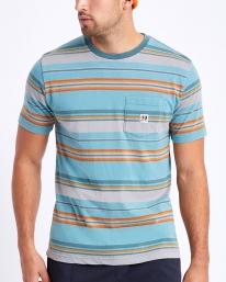 Brixton Hilt Alton T-Shirt (aqua cloud wash)