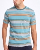 Brixton Hilt Alton T-Shirt (aqua cloud wash)