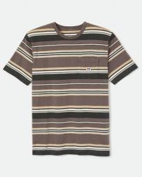 Brixton Hilt Alton T-Shirt (washed black cloud wash)