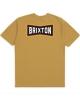 Brixton Truss T-Shirt (antique gold)