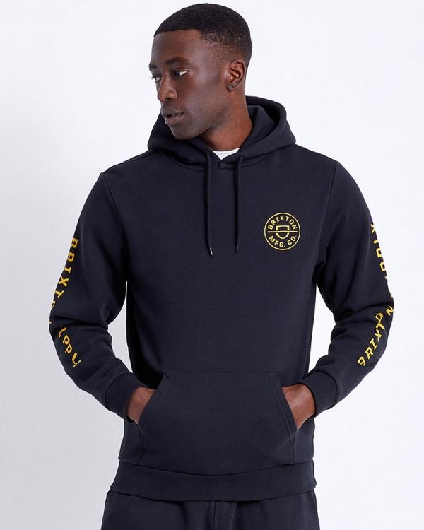 Brixton Crest Hoodie (black)