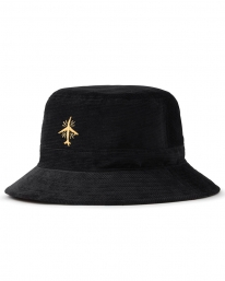Brixton BB Cord Bucket Hat (black)