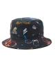 Brixton BB Cord Bucket Hat (black)