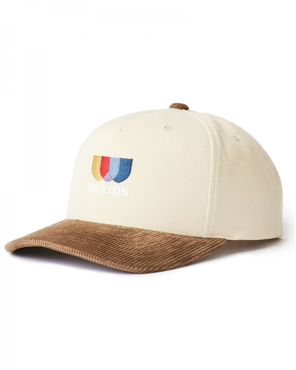 Brixton Alton EMB C Cap (ivory/toffee)