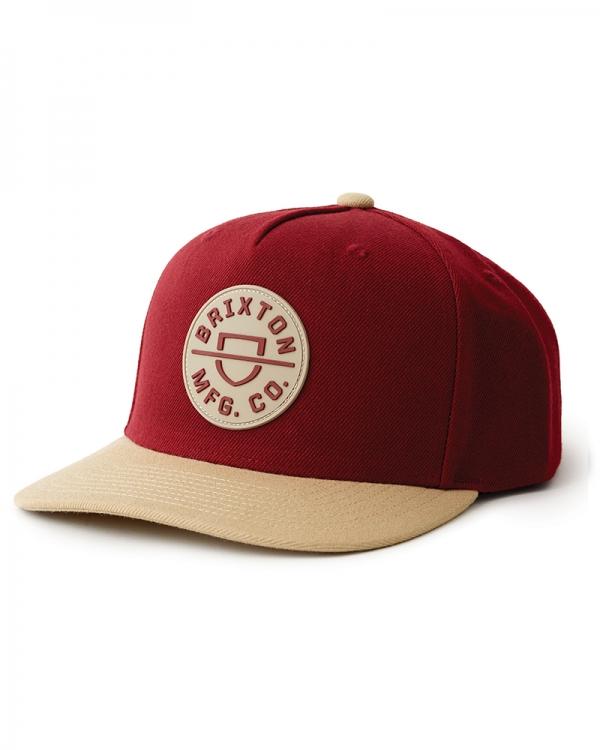 Brixton Crest C Cap (cowhide/vanilla)