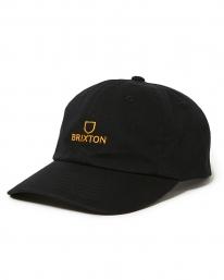 Brixton Alpha Cap (black/gold)