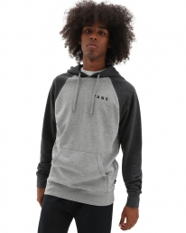 Vans Athletic Raglan Hoodie (cement)