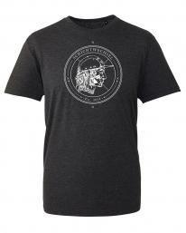 Schichtwechsel Stadtindianer T-Shirt (heather black)