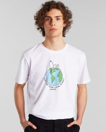 Dedicated Stockholm Snoopy Earth T-Shirt (white)