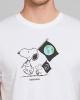 Dedicated Stockholm Snoopy Flag T-Shirt (white)