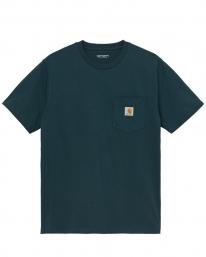 Carhartt WIP Pocket T-Shirt (deep lagoon)