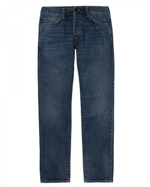 Carhartt WIP Klondike Pant (blue mid worn wash)