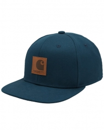 Carhartt WIP Logo Cap (deep lagoon)