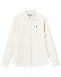 Carhartt WIP Madison Fine Cord Hemd (wax/kingston)