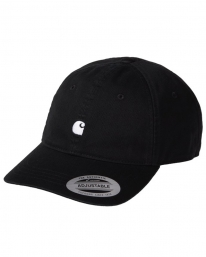 Carhartt WIP Madison Logo Cap (black/white)