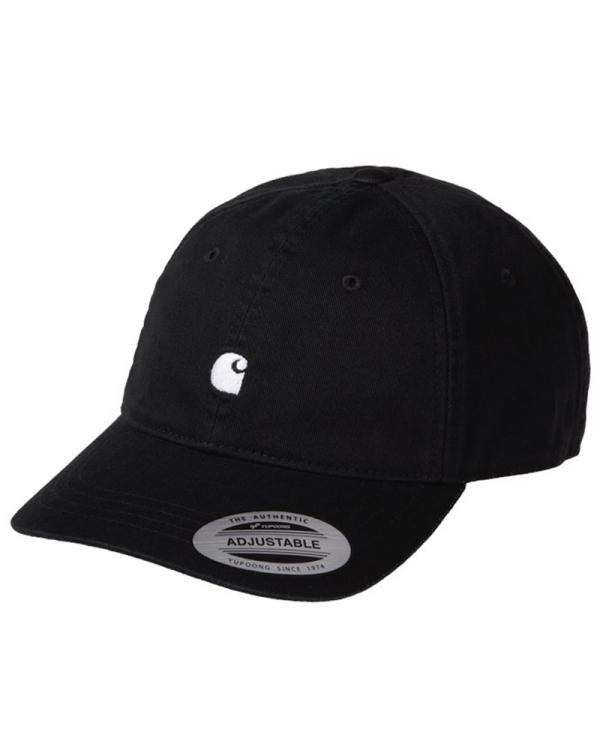 Carhartt WIP Madison Logo Cap (black/white)