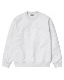 Carhartt WIP Sweat Sweater (ash heather/white)