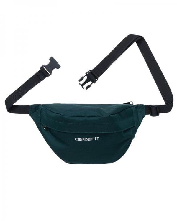 Carhartt WIP Payton Hip Bag (deep lagoon/white)