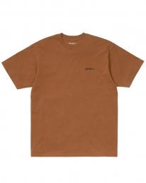Carhartt WIP Script Embroidery T-Shirt (rum/black)