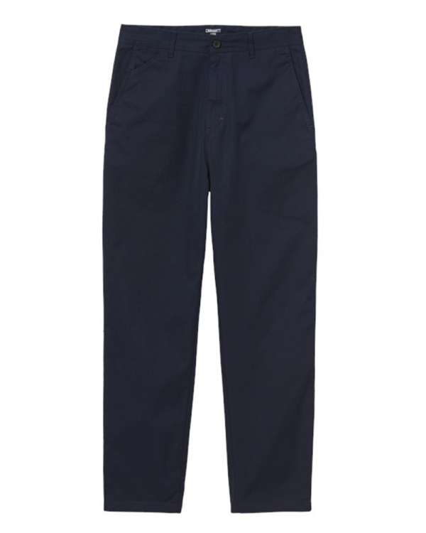 Carhartt WIP Menson Pant (dark navy rinsed)