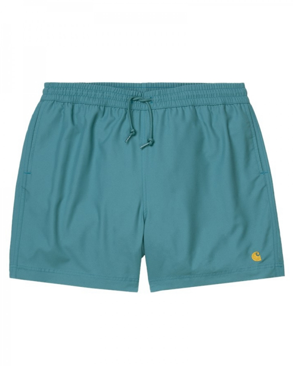 Carhartt WIP Chase Swim Trunks (hydro/gold)
