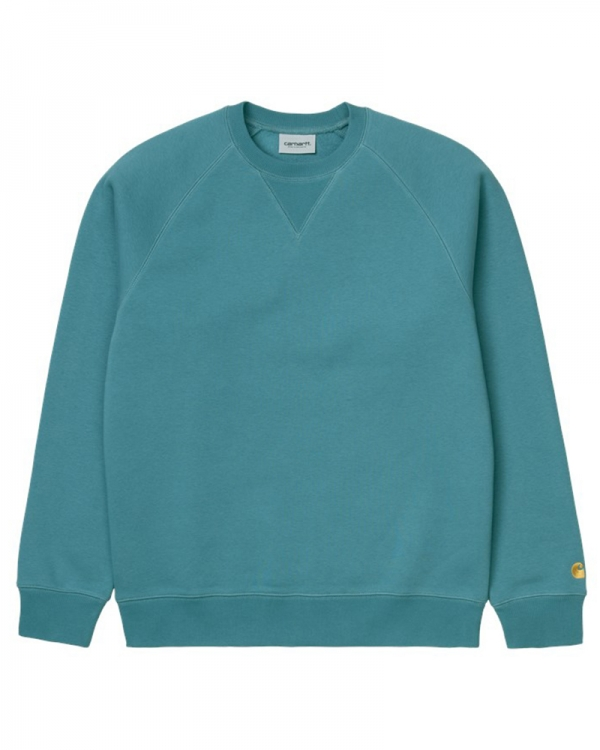 Carhartt WIP Chase Sweater (hydro/gold)