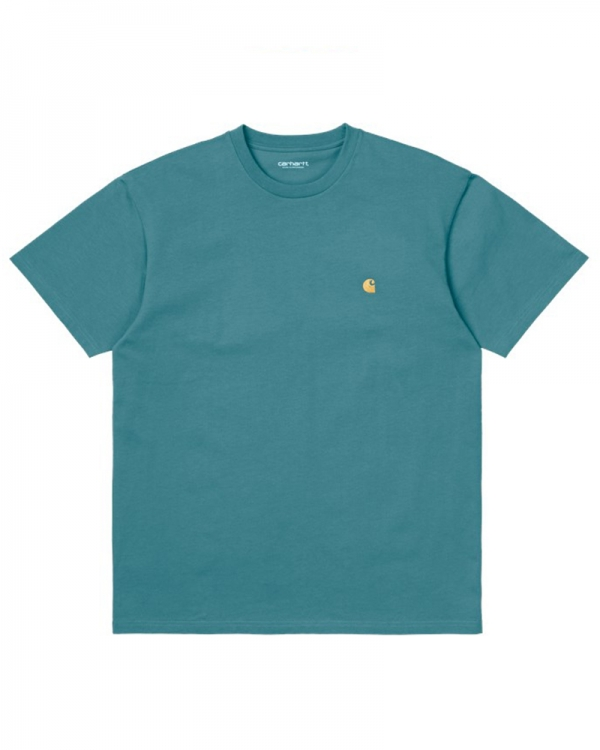 Carhartt WIP Chase T-Shirt (hydro/gold)