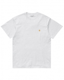Carhartt WIP Chase T-Shirt (ash heather/gold)