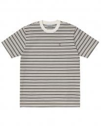 Carhartt WIP Akron T-Shirt (akron stripe/wax)