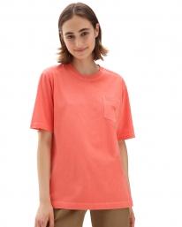 Vans Pocket V T-Shirt (hot coral)