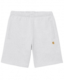 Carhartt WIP Chase Sweat Short (ash heather/gold)