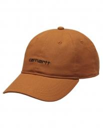 Carhartt WIP Canvas Script Cap (rum/black)