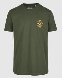 Cleptomanicx Games T-Shirt (scarab green)
