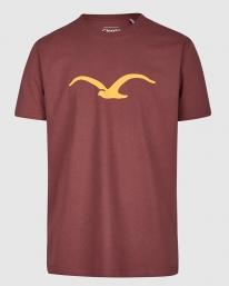 Cleptomanicx Möwe T-Shirt (port royale)
