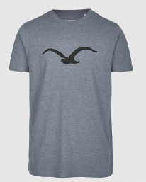Cleptomanicx Möwe T-Shirt (heather forged iron)