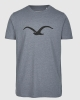 Cleptomanicx Möwe T-Shirt (heather forged iron)