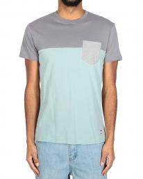 Iriedaily Block Pocket T-Shirt (charcoal)