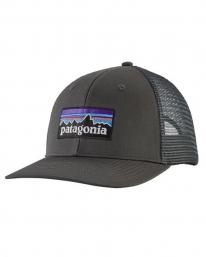 Patagonia P6 Logo Trucker Cap (forge grey)